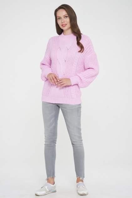 Джемпер женский VAY 192-4010 розовый 52 RU