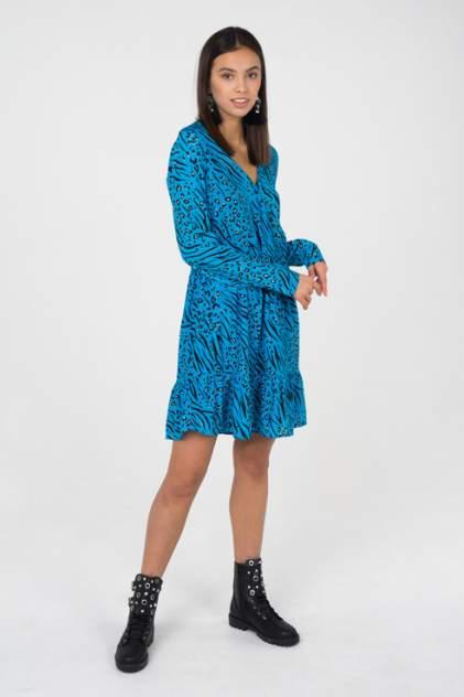 Платье женское ONLY 15178575 синее 36 EU
