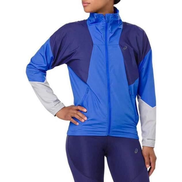Спортивная ветровка Asics Style, серебристый, синий