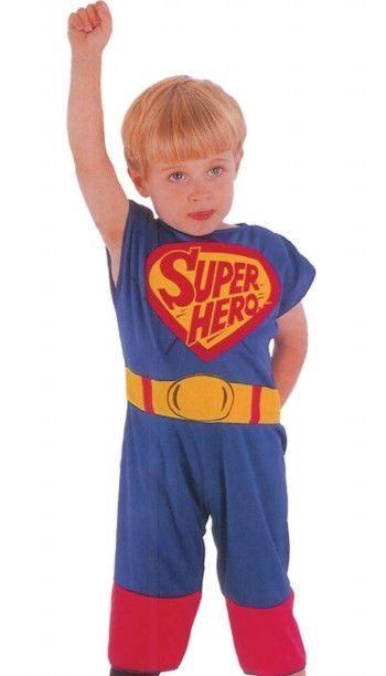 Карнавальный костюм Snowmen Супермен, цв. красный; синий р.98
