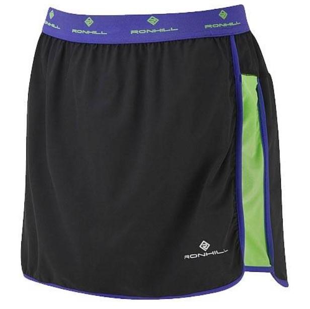 Женская юбка Ronhill Aspiration Connect Over Skirt, черный