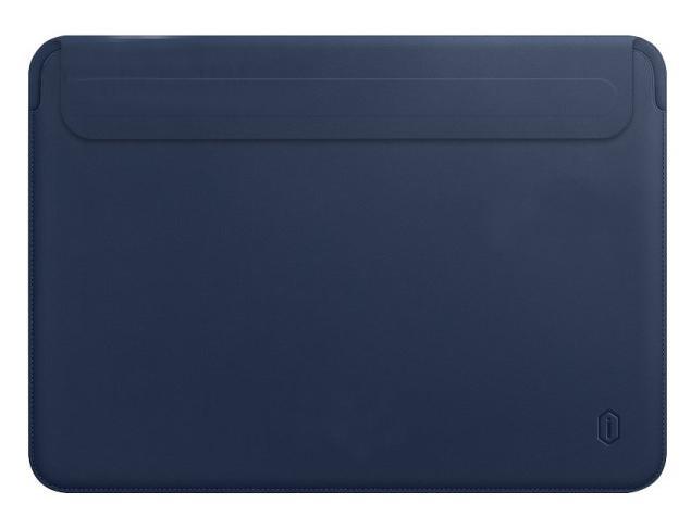 Чехол Wiwu Skin Pro 2 Leather для MacBook Pro 13/Air 13 2018 (Blue)