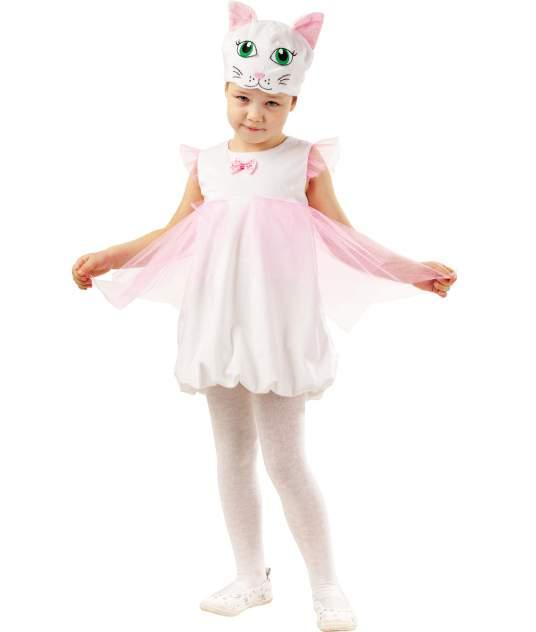 Карнавальный костюм Батик Кот, цв. розовый р.104