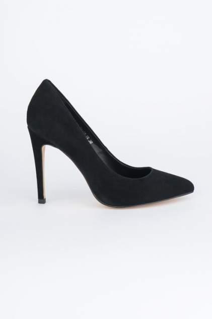 Туфли женские Velvet 100-01-EM-01-VK черные 35 RU