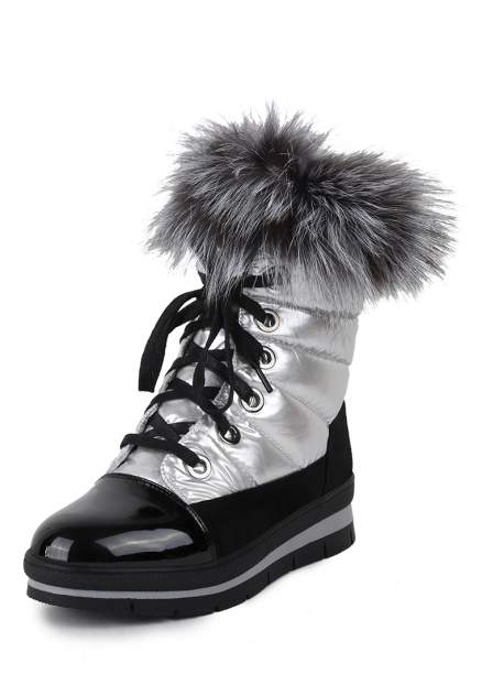 Ботинки женские T.Taccardi 25707100 серебристые 39 RU