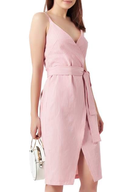 Платье женское Fly 874-04 розовое 50 RU