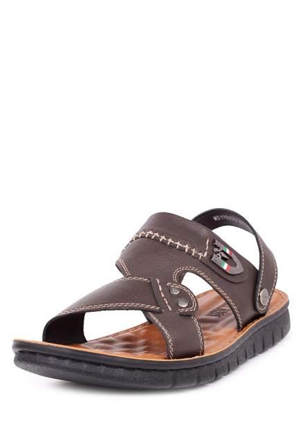 Сандалии мужские T.Taccardi 710017668 коричневые 43 RU