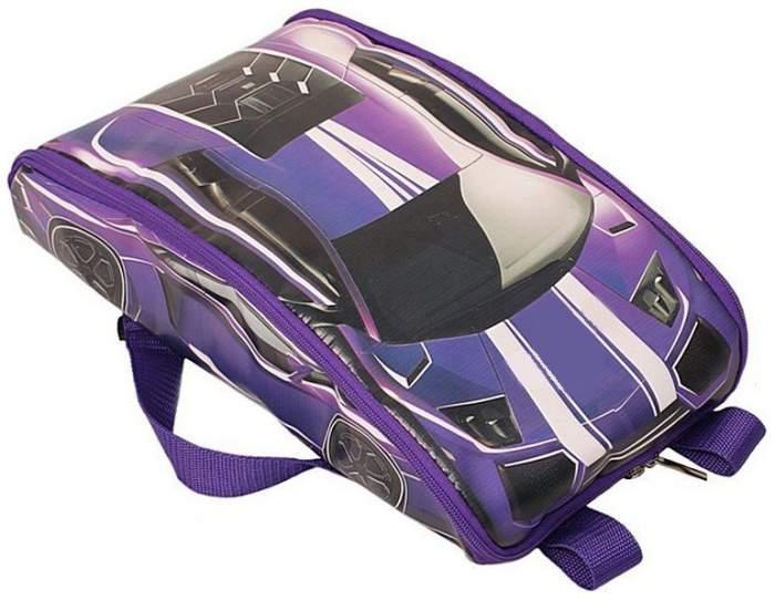 Рюкзак детский R-TOYS Тачки для велосипедов и самокатов violet