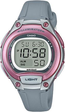 Наручные часы электронные женские Casio Collection LW-203-8A