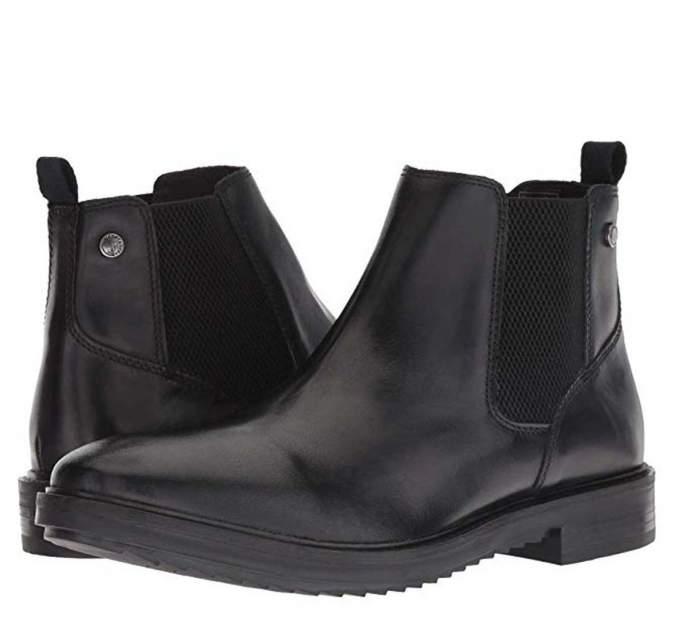 Мужские ботинки Base London B07DVQ67YN, черный