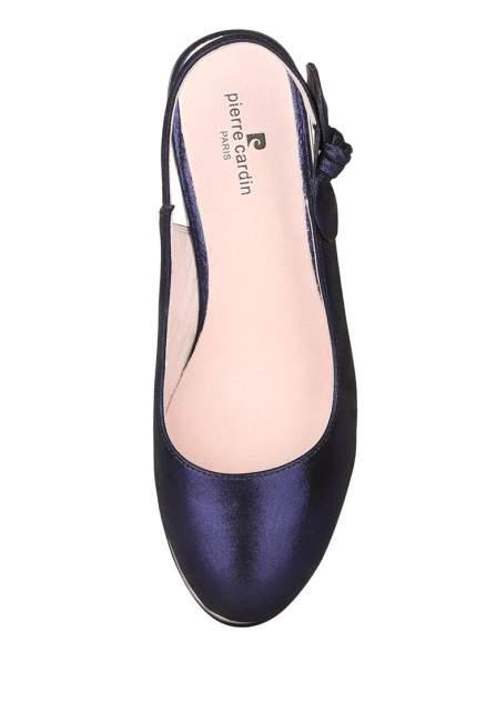 Туфли женские Pierre Cardin 710017674 синие 40 RU
