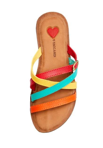 Шлепанцы женские T.Taccardi 00906120 разноцветные 37 RU