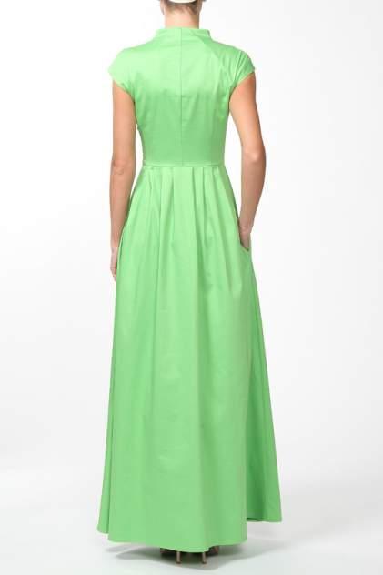 Платье женское Анна Чапман P45K-L зеленое 42 RU
