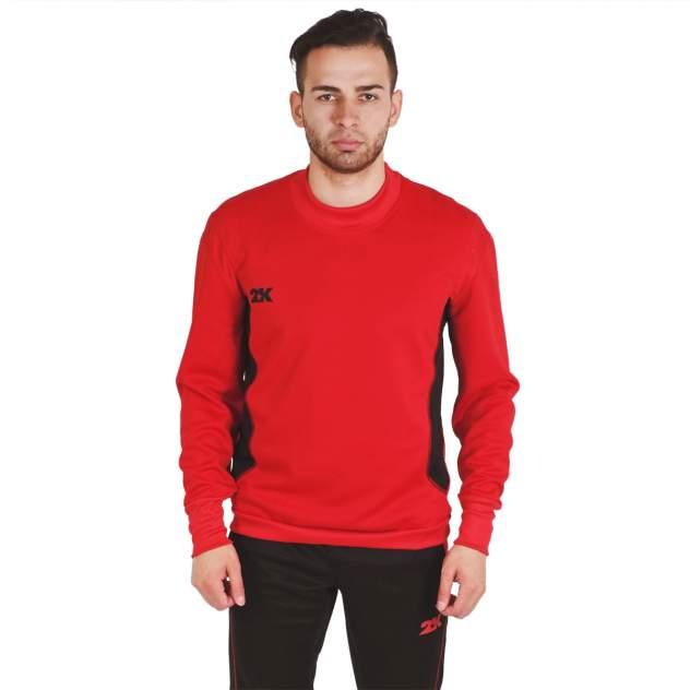 Толстовка 2K Vettore 111135, red/black, 3XL INT