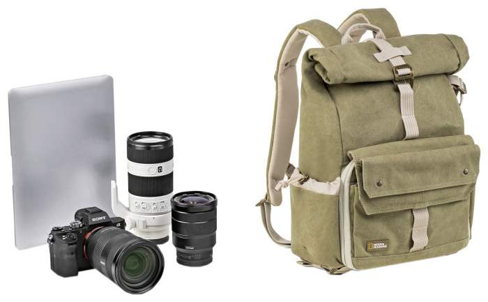 Рюкзак для фототехники National Geographic 5168 New Earth Explorer бежевый