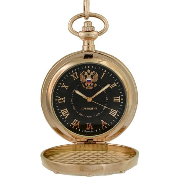 Карманные часы мужские Русское время 2959473 золотистые