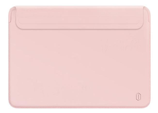 Чехол Wiwu Skin Pro 2 Leather для MacBook Pro 13/Air 13 2018 (Pink)
