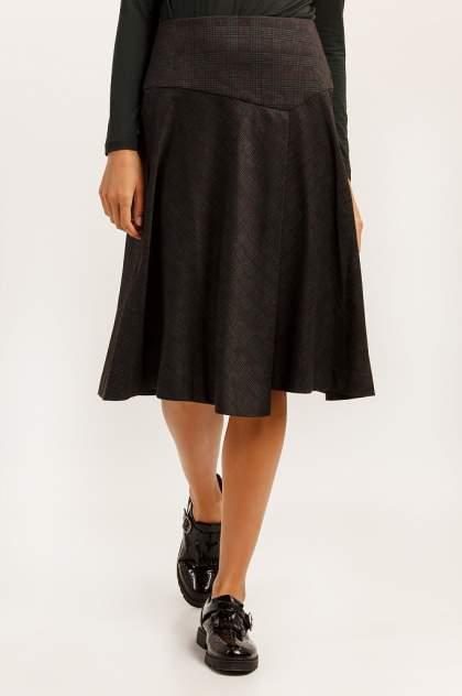 Юбка женская Finn Flare A19-11064 черная S
