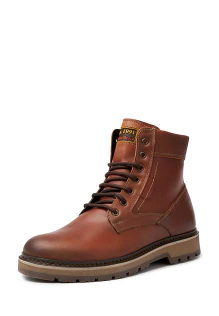 Ботинки мужские Alessio Nesca 26107590 коричневые 40 RU