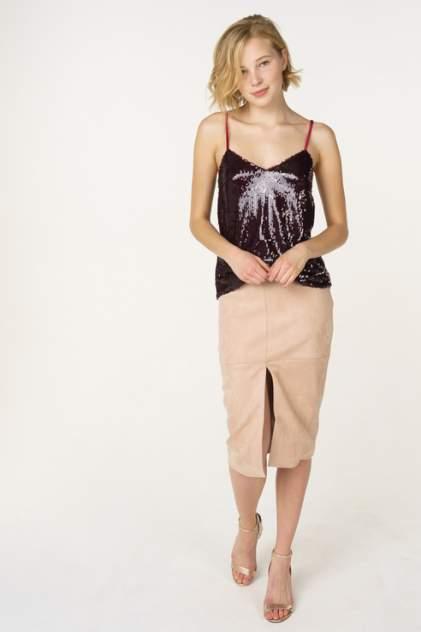 Женская юбка T-Skirt SS17-02-0290-FS, бежевый
