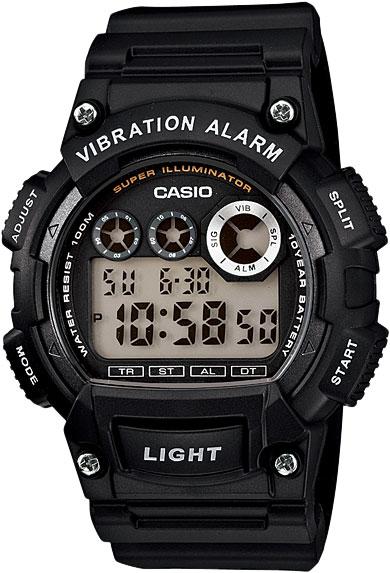 Наручные часы электронные мужские Casio Collection W-735H-1A