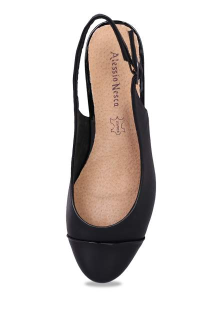 Туфли женские Alessio Nesca 710017760 черные 38 RU