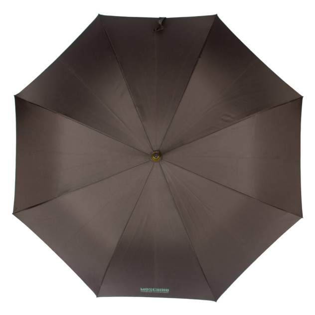 Зонт-трость мужской полуавтоматический MOSCHINO M/533-67AUTOL/Antracite коричневый