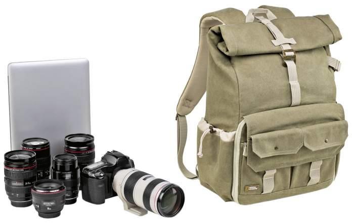 Рюкзак для фототехники National Geographic 5170 New Earth Explorer бежевый