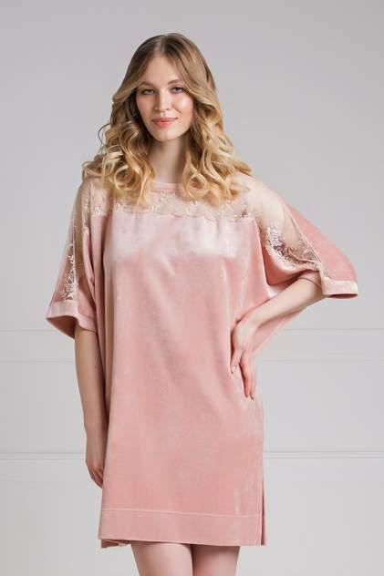 Домашнее платье женское Laete 20266-5 розовое 2XL