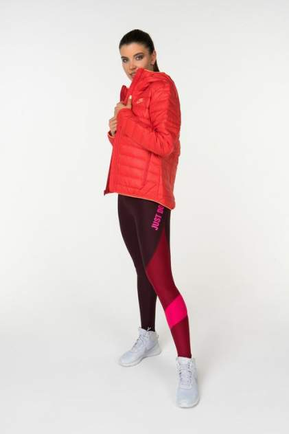 Куртка женская Nike 805082-657 красная 44 USA