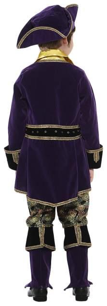 Карнавальный костюм Батик Пират, цв. коричневый р.140
