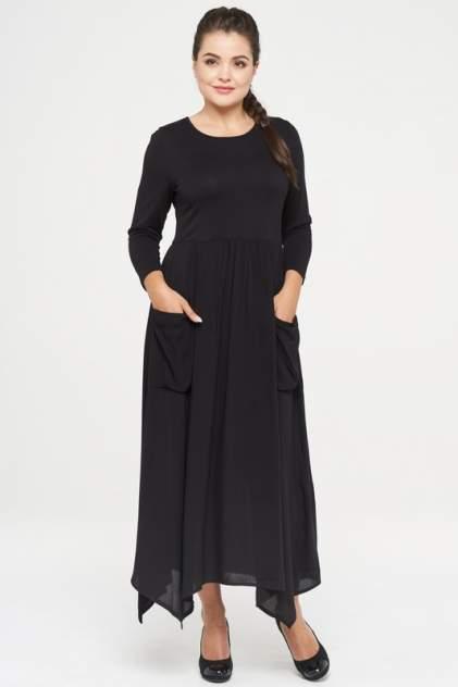 Платье женское VAY 182-3471 черное 42 RU