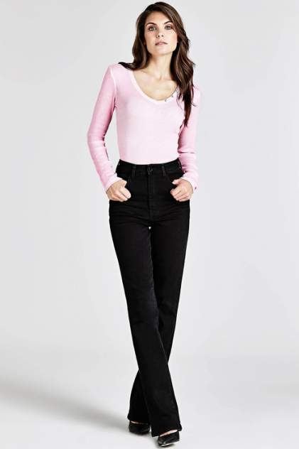 Лонгслив женский Guess W91P78K8CC0F49C розовый M