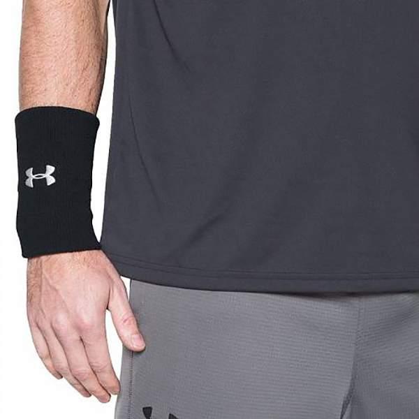 "Напульсники Under Armour 6"" UA Performance Wristband 2-Pack black"