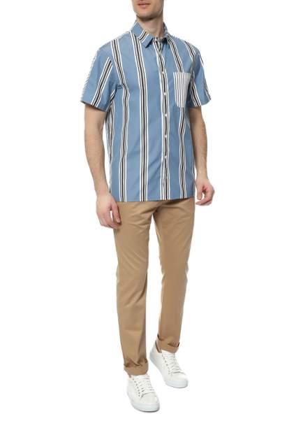 Рубашка мужская Tommy Hilfiger синия M