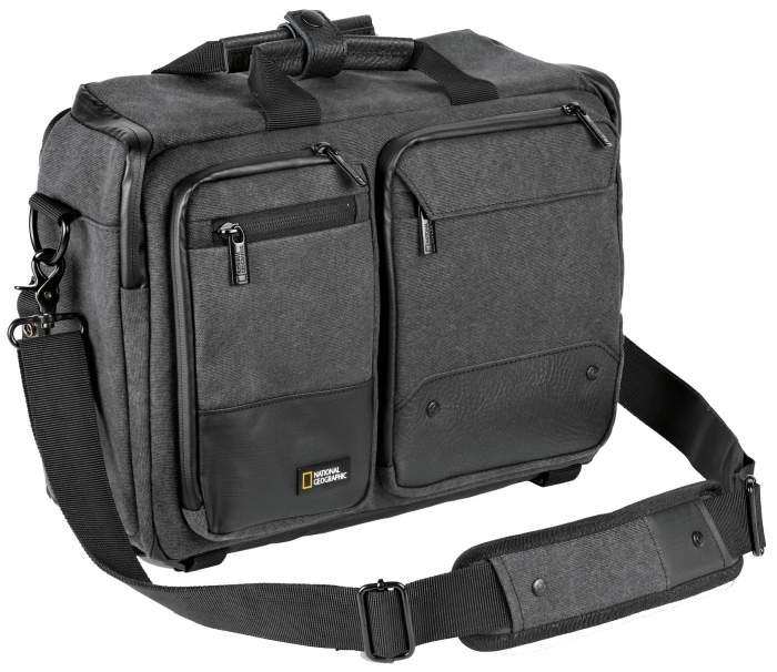 Сумка для фототехники National Geographic Walkabout 3-way Backpack черная/серая
