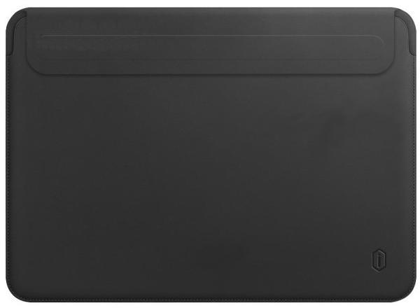 Чехол Wiwu Skin Pro 2 Leather для MacBook Pro 13/Air 13 2018 (Black)
