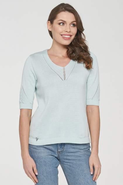 Пуловер женский VAY 191-4925 голубой 46 RU