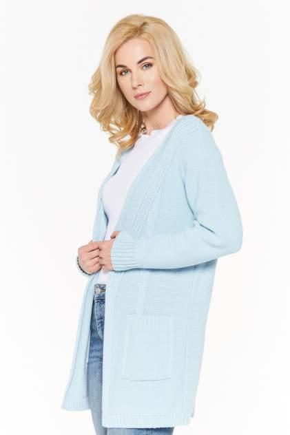 Жакет женский VAY 192-1613 голубой 52 RU