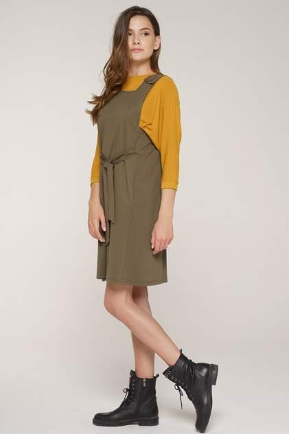 Платье женское VAY 192-3568 зеленое 44 RU