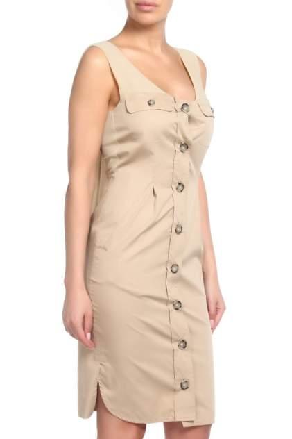 Платье женское SPORTMAX 22210311/001 бежевое 38 IT