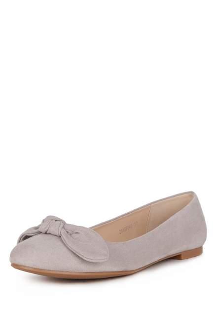 Балетки женские T.Taccardi 710018554, серый