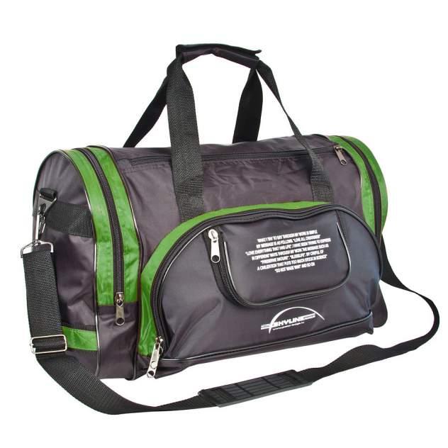 Дорожная сумка Polar П02с зеленая 47 x 30 x 24
