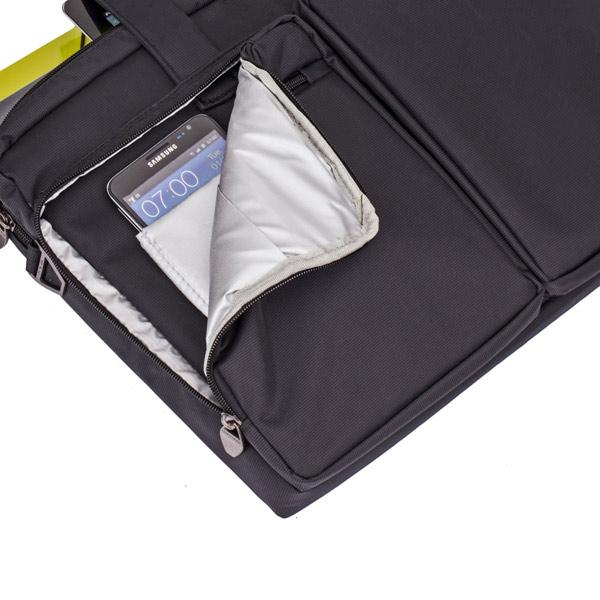 """Сумка для ноутбука 16"""" Rivacase 8530 черная"""
