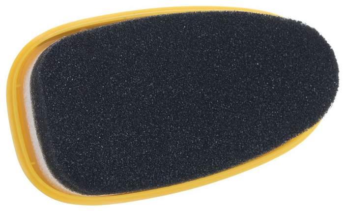 Губка для обуви Salton гладкая кожа с дозатором черная