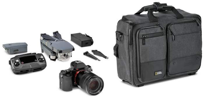 Рюкзак для фототехники National Geographic Walkabout 3-way Backpack черный/серый
