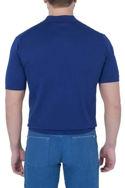 Поло мужское CUDGI CTS17-49 синее 58 IT