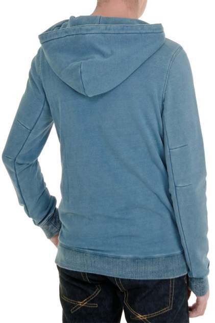 Толстовка мужская Amsterdenim AM1801570 голубая 3XL