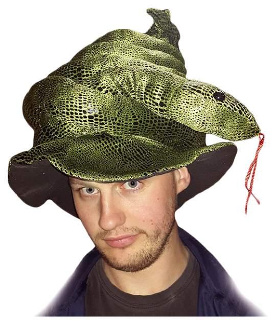 Карнавальная шапка Змея, 54-56 см F-7388A