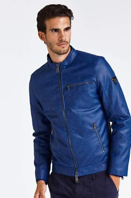 Мужская кожаная куртка Guess M93L19WBS60G7M9, синий